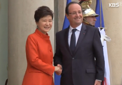 Präsidentin Park zu Besuchen in Afrika und Frankreich aufgebrochen