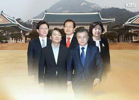 KBS-Yonhap-Umfrage: Ahn Cheol-soo liegt an der Spitze