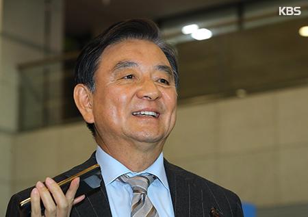 Sondergesandte für USA, China und Japan berichten Präsident Moon über Besuchsergebnisse