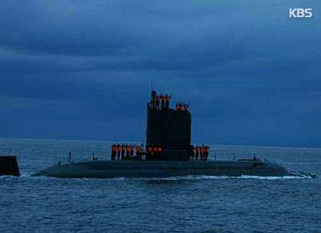 Un nuevo submarino en construcción en Corea del Norte