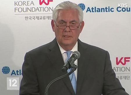 US-Außenminister: USA zu Gesprächen mit Nordkorea ohne Vorbedingung bereit