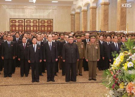 Cérémonie sobre à Pyongyang pour commérer l'anniversaire de la mort de Kim Jong-il