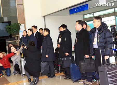 Южнокорейская делегация прибыла в СК