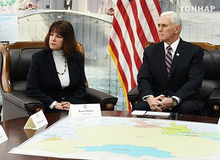 美国副总统:北韩弃核方可解除制裁 可考虑与其对话