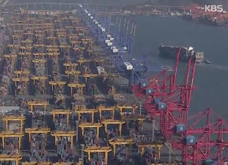 第一季度韩国经济增长率达1.1% 出口和建设投资增加