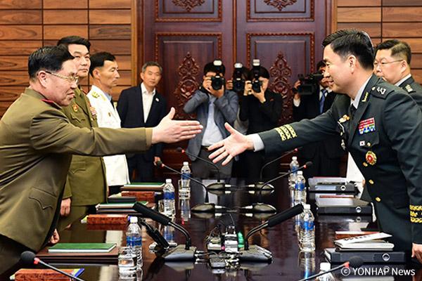 Reprise du dialogue militaire entre les deux Corées