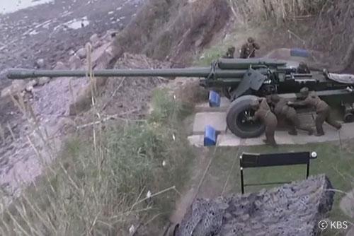 КНДР может отвести артиллерию от границы