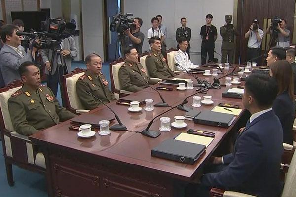 Beide Koreas erzielen Konsens über Entmilitarisierung der Gemeinsamen Sicherheitszone (JSA)