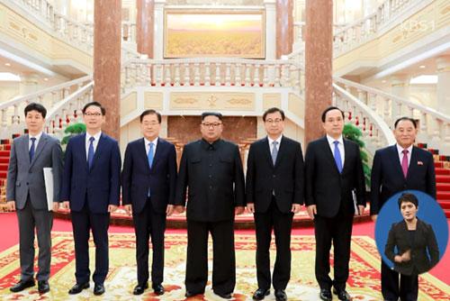 Межкорейский саммит пройдёт в Пхеньяне18-20 сентября