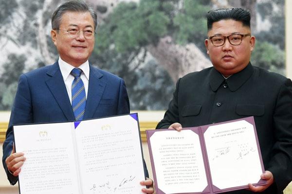 Gemeinsame Erklärung von Pjöngjang als neuer Wendepunkt für Frieden