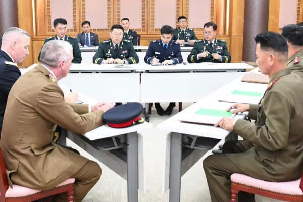 南北韩与联合国军司令部讨论解除共同警备区武装