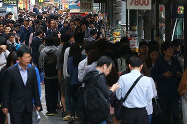 Estado de la población surcoreana