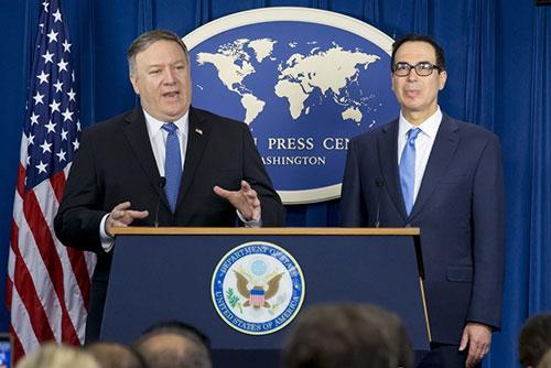 Mỹ khôi phục toàn diện lệnh trừng phạt Iran