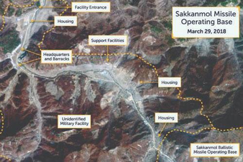 Bắc Triều Tiên bị cáo buộc đang vận hành các căn cứ tên lửa bí mật