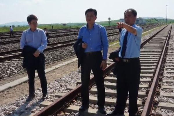 Koreas diskutieren über Zeitplan für Eisenbahn-Untersuchung