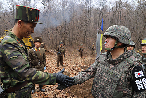 30 ноября Север и Юг завершили снос части сторожевых постов в DMZ