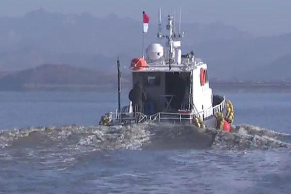 南北韩结束汉江河口联合调查