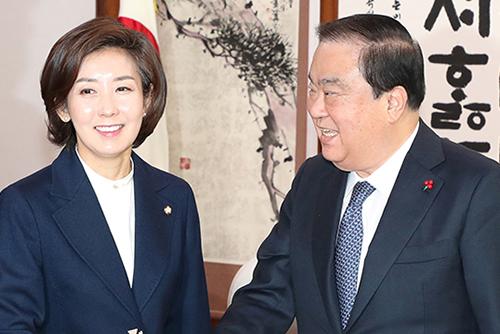 На Гён Вон – новый лидер парламентской фракции партии Свободная Корея