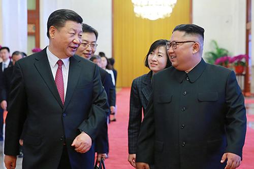 Лидер КНДР Ким Чон Ын побывал с визитом в Китае