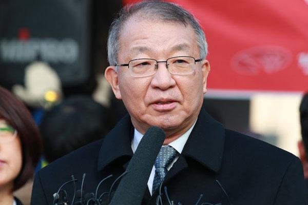 Cựu Chánh án Tòa án tối cao Yang Seung-tae trình diện tại Viện Kiểm sát