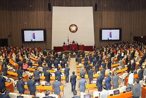 Внеочередная сессия Национального собрания РК