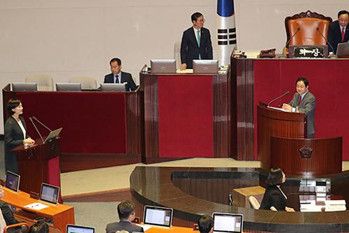 Национальное собрание РК приступило к заслушиванию отчётов глав правительственных учреждений