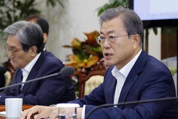 文在寅:期待第4次南北韩首脑会谈不受地点形式限制进行实质性讨论