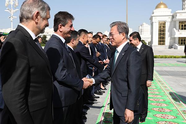 Визит президента РКв страны Центральной Азии