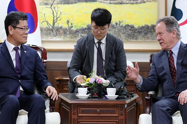 Cân nhắc viện trợ lương thực cho Bắc Triều Tiên thông qua tổ chức quốc tế