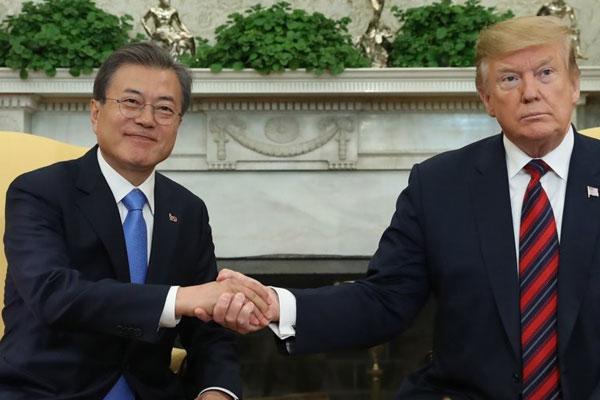 US-Präsident Trump besucht Südkorea im Juni