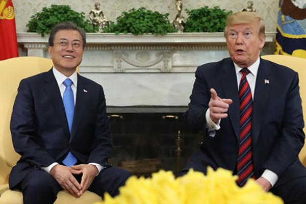 Визит президента США Дональда Трампа в Сеул состоится в конце июня