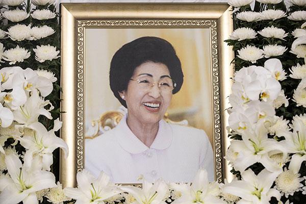 Скончалась бывшая первая леди РК Ли Хи Хо