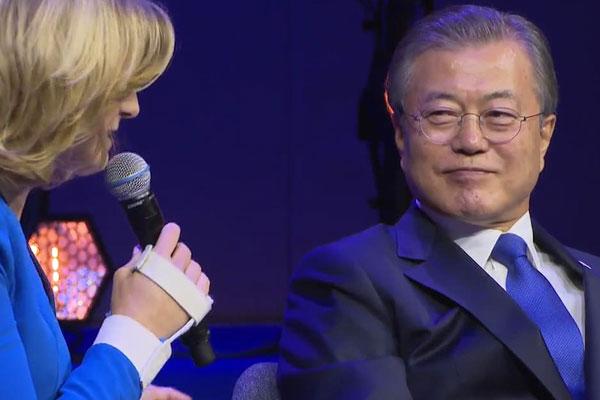 Präsident Moon hofft auf baldigen Gipfel mit Nordkorea