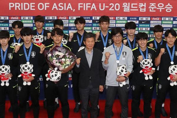 韩代表队获得国际足联U-20世界杯亚军 开启韩国足球新时代