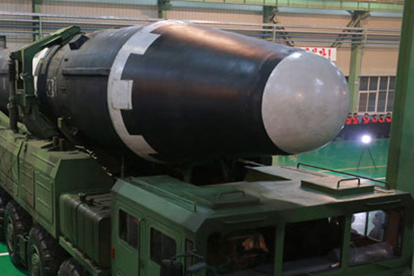 USFK: Nordkoreas ICBM Hwasong-15 erreicht jedes Gebiet in USA