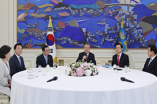 Президент РК и лидеры партий обсудили важные вопросы