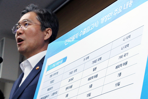 Ответные действия РК относительно японских мер экономического возмездия