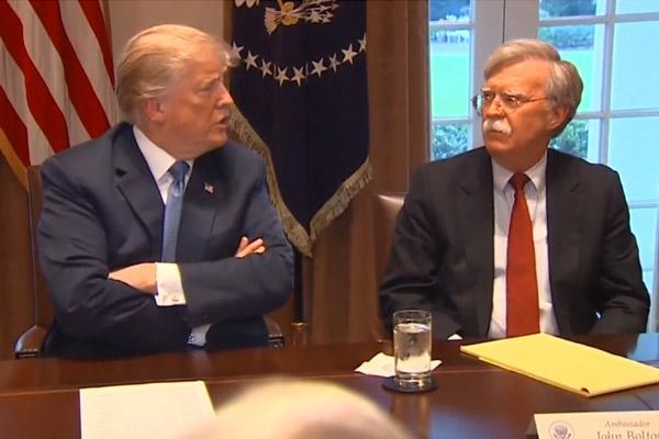 Motivos de la destitución de Bolton