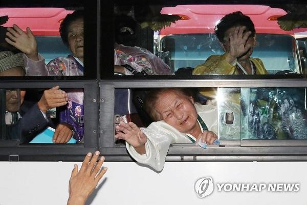 Sechs von zehn Mitgliedern getrennter Familien in Südkorea bereits tot