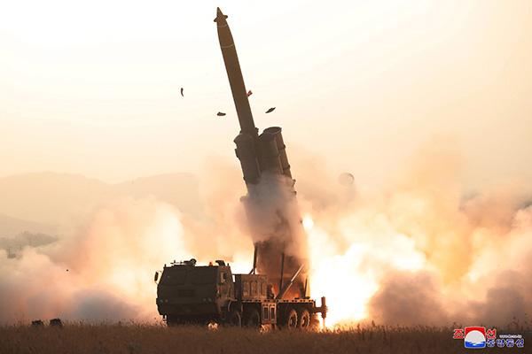 КНДР провела очередной запуск снарядов