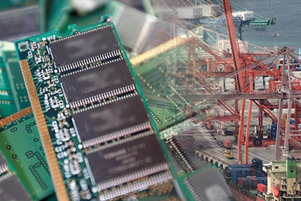Xuất khẩu chip bán dẫn Hàn Quốc có dấu hiệu khôi phục tăng trưởng