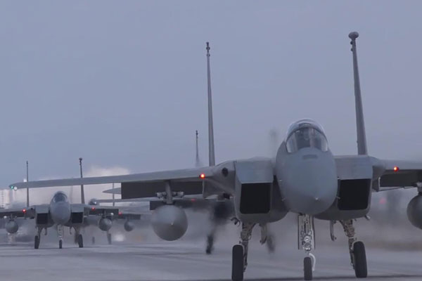 美北正以停止韩美联合空中演习为媒介谋求对话