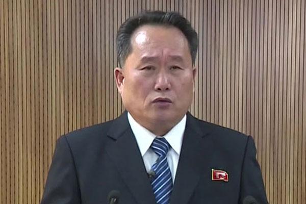 北韩进行人事调整 任命李善权为外务相