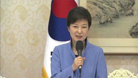 Pres. Park Vows to Boost Personnel Vetting Process