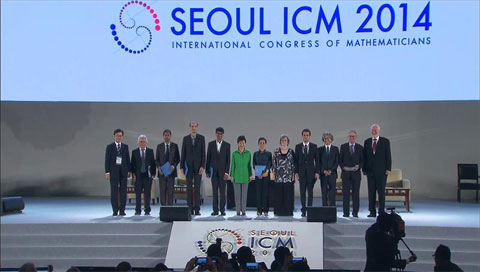 Int'l Congress of Mathematicians Opens in Seoul