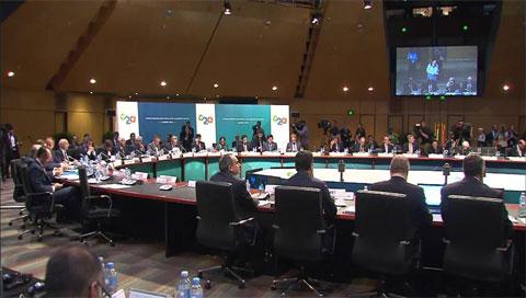 G20-Finanzminister vereinbaren verstärkte Kooperation für mehr Wachstum