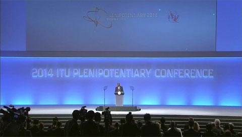 2014年国际电信联盟第19届全权代表大会开幕