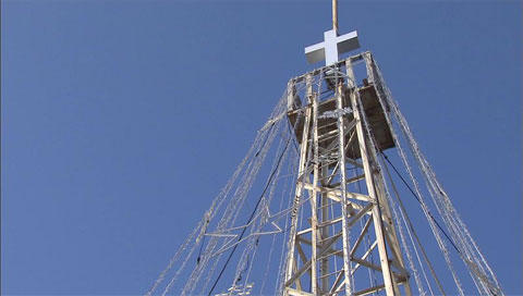 Turm auf Aegibong nahe Grenze abgerissen
