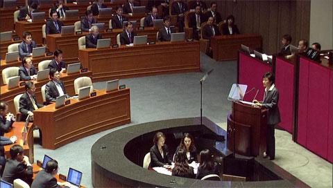 朴槿惠发表施政演说 敦促国会在年内完成公务员年金制度改革工作