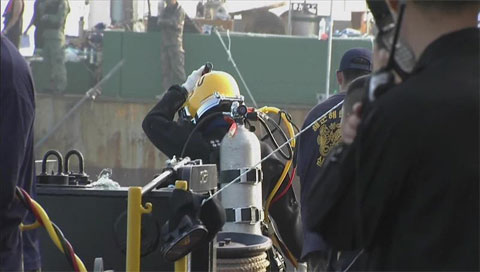 Thêm một thi thể được phát hiện sau 102 ngày tìm kiếm trong thảm họa tàu Sewol